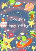 COUSIN-ALIENS AND SPACECRAFT
